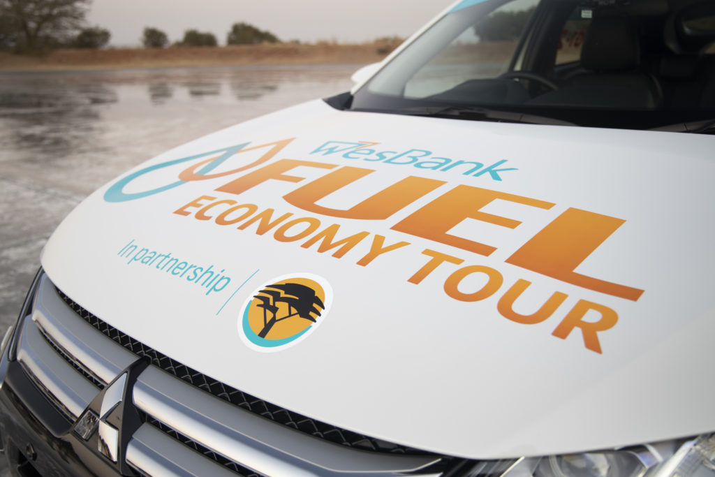 Public support for WesBank fuel economy tour in partnership with FNB