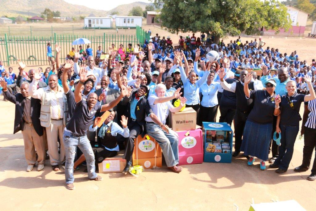 schoolchildren - Rally 2014 Limpopo4